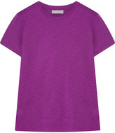 Vince Swing Slub Pima Cotton T-shirt - Violet