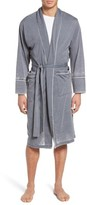 Daniel Buchler Men's Burnout Cotton Blend Robe