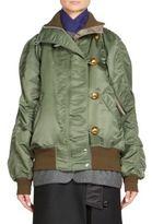 Sacai Nylon Blouson Coat