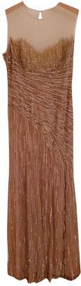 Jenny Packham Gold Synthetic Dresses