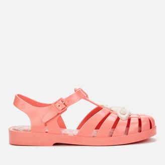 Melissa Women's Possession Contrast Orb Sandals - Coral - UK 3