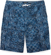 Ralph Lauren 8-20 Straight Cotton Twill Short