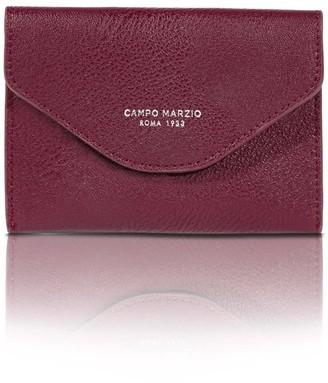 Campo Marzio Olympas Passport Holder - Red Wine