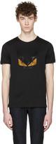 Fendi Black Crystal bag Bug T-shirt