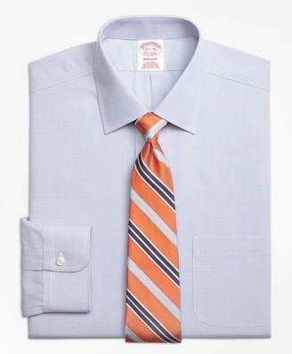 Brooks Brothers Madison Classic-Fit Dress Shirt, Non-Iron Twin Check