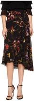 Fuzzi Hummingbird 3/4 Lace Trim Tulle Skirt Women's Skirt