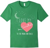 Men's Grandkids T-shirt - I love my grandkids to the moon and back XL