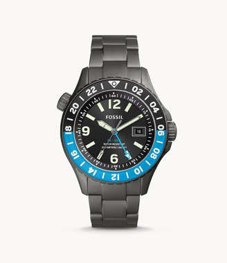 Fossil Limited Edition Fb-Gmt Dual Time Titanium Watch