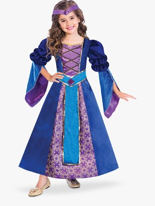 Travis Designs Medieval Princess Children's Costume, 4-6 years