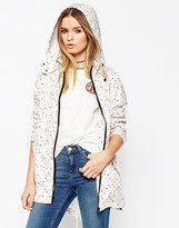 Asos Pac a Trench in Arrow Print