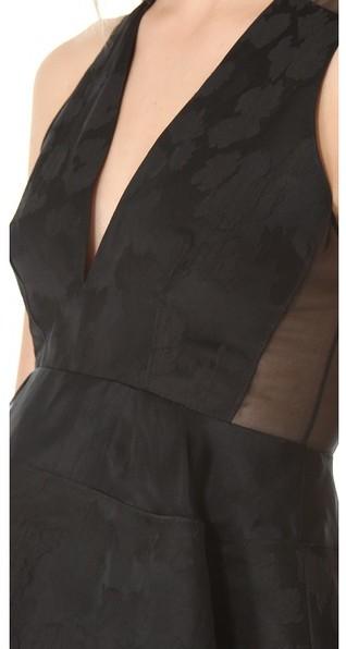 Thakoon Sleeveless Peplum Dress