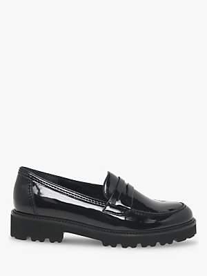 Gabor Simone Low Block Heel Loafers