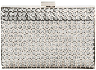 Gregory Ladner Metal Hardcase Clutch Bag