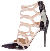 Valentino Caged Patent Leather Pumps