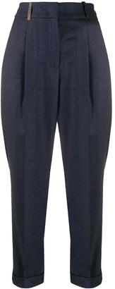 Peserico High Waisted Jodhpur Trousers