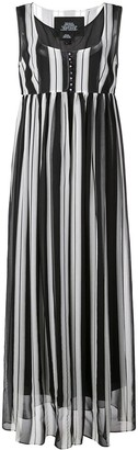 Marc Jacobs striped midi dress
