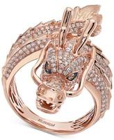 Effy Diamond Dragon Statement Ring (1-1/3 ct. t.w.) in 14k Rose Gold