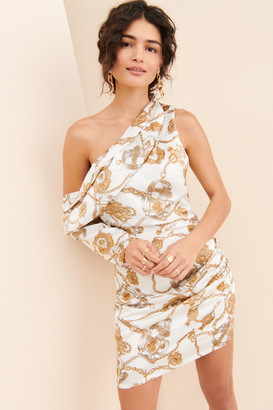 Winter Muse Davina One Shoulder Dress