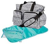 Trend Lab Aztec Deluxe Duffle Diaper Bag, by