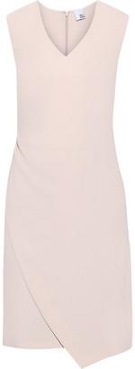 Iris & Ink Bo Asymmetric Crepe Dress