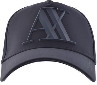 Armani Exchange Logo Cap Navy