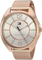 Tommy Hilfiger Women's Quartz Gold Automatic Watch(Model: 1781697)