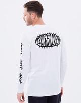 Quiksilver Mens Born Thorny Long Sleeve T Shirt