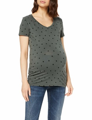 Noppies Women's Tee Ss V Neck Rome Maternity T-Shirt