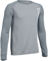 Under Armour Boys' Waffle Crewneck T-Shirt