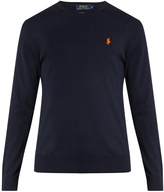 Polo Ralph Lauren Logo-embroidered crew-neck cotton sweater
