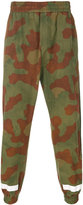 Off-White camouflage track pants - men - Cotton/Polyamide/Polyester/Acetate - XS