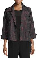 Caroline Rose Brushstroke Jacquard Gala Jacket