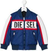 Diesel 'Jelez' reversible bomber jacket