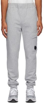 C.P. Company Grey Cargo Lounge Pants