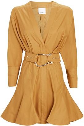 Acler Bastor Poplin Mini Dress