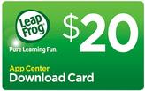Vtech LeapFrog App Center $20 Download Card