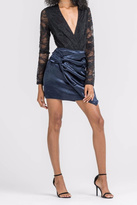 Lush Knot Front Skirt