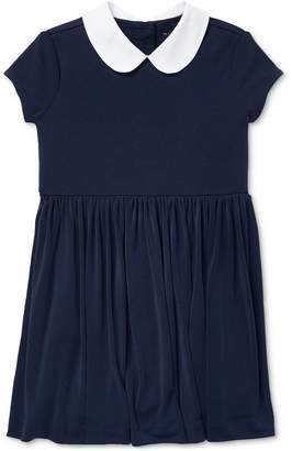 Polo Ralph Lauren Little Girls Knit Collar Dress