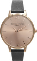 Olivia Burton Ladies big rose gold dial watch