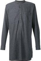 Engineered Garments long banded collar shirt