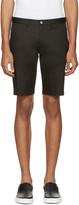 Dolce & Gabbana Black Cotton Shorts