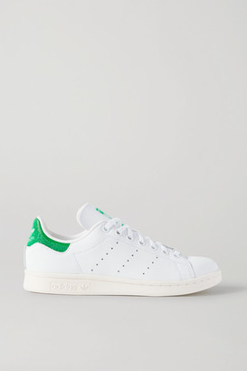 adidas + Swarovski Stan Smith Leather Sneakers - White