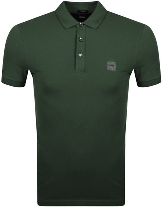 BOSS Passenger Polo T Shirt Khaki