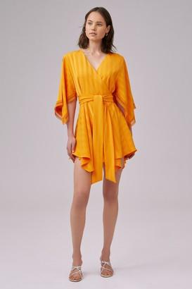 Keepsake ARROWS MINI DRESS Orange