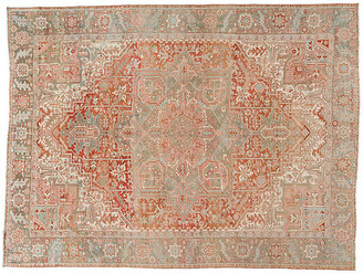 "One Kings Lane Vintage Antique Persian Heriz Rug - 9'7"" x 12'8"" - Apadana - red"