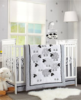 NoJo Good Night Sheep 4 Piece Crib Bedding Set Bedding