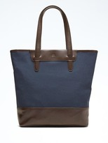 Banana Republic Cotton Tote Bag