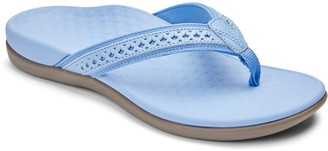 Vionic Leather Thong Sandals - Tide Sally