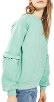 Topshop TALL Extreme Blouson Sweatshirt