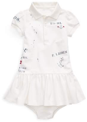 Ralph Lauren Graphic Polo Dress & Bloomer